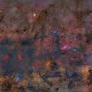 M17 to NGC 6188,                                GoldfieldAstro