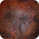 Ic 1396 through Optolong L Extreme with Full moon,                                Marcin Kuś