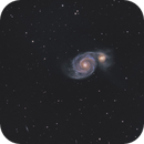 The whirlpool galaxy Messier 51,                                Marie