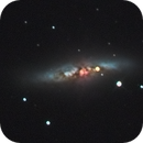 Supernova in M82,                                mario_hebert
