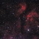Cygnus - Sadr region  7-2-14,                                Mo