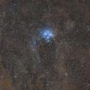 Pleiades and part of the Taurus Molecular Cloud,                                Die Launische Diva