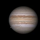 Jupiter with Io (and Europa emerging),                                Darren (DMach)