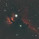 Flame and Horsehead Nebulas,                                David Wright