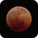 Moon - Lunar Eclipse July 27, 2018 @23h58,                                Ray Caro