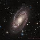Bode's galaxie,                                Bernard DELATTRE