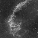 Eastern Veil Nebula - H-alpha - Two-panel Mosaic,                                Eric Coles (coles44)