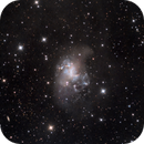 The Topsy-Turvy Galaxy (NGC 1313),                                DiscoDuck