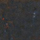 IC 1805 Heart Nebula & NGC 884/869 Double Cluster,                                Txema Asensio
