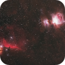 Orion and Horsehead,                                Kyle Floros