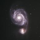 M51, Whirlpoolgalaxie,                                Peter Schmitz