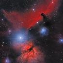 Horsehead & Flame Nebula,                                Jeremy Wiggins