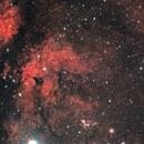 IC 1318 - Butterfly nebula,                                Sagittarius_a