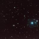 NGC 6543 - The Cats Eye Nebula and NGC 6552,                                Steve Rosenow