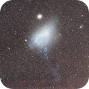 Small Magellanic Cloud with Tidal Tail and IFN,                                Colin