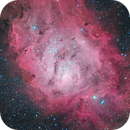 Messier 8 - Lagoon Nebula,                                Maicon Germiniani