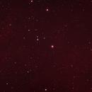 IC 405 - The Flaming Star Nebula narrowband + near infrared,                                JasonC
