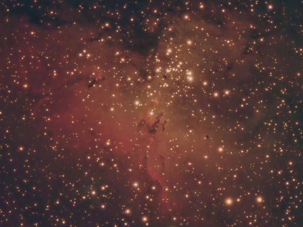 M16 Eagle Nebula,                                Jeff