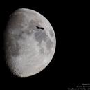Passage d'avion devant la lune,                                Alain L'ECOLIER