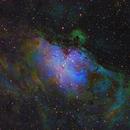 M16 Eagle Nebula in S2HaO3-RGB,                                equinoxx