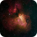 M17 Omega Nebula in HOS,                                Aaron Freimark