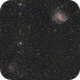 Fireworks Galaxy & Open Cluster NGC 6939,                                apothegary