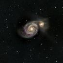 M51 Whirlpool Galaxy,                                Richard Blackshaw