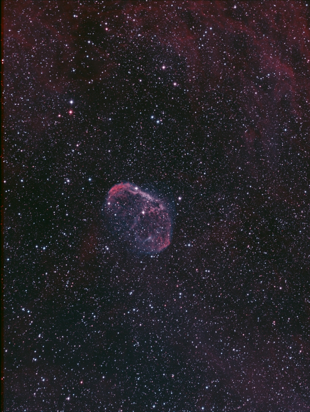 Crescent Nebula,                                apaquette