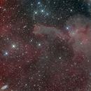Cometary Globula CG4 in Puppis,                                Jean-Baptiste Auroux