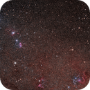 NGC 1850 and others in the Large Magellanic Cloud,                                Alex Woronow
