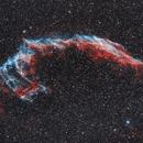 NGC 6992, The Eastern Veil, Bi Colour,                                Lensman57
