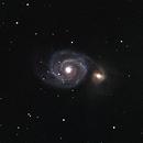 M51 Whirlpool Galaxy,                                Eric Stewart