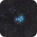Comet C/2016 R2 Panstarrs near Pleiades,                                Astro-Wene