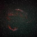 Veil Nebula Duo Narrowband,                                tsk1979