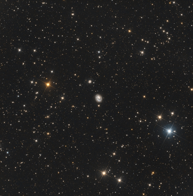 NGC 4618 wide field,                                dhuber1