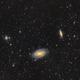 M81/M82 group in a wide field,                                Stephen Kirk
