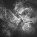 NGC 3372 - Great Carina Nebula - Starless H-Alpha,                                Ray Caro