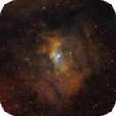 Bubble Nebula - NGC 7635 - SHO,                                Thomas Richter