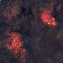 NGC 6334 & NGC 6357 in Scorpius in HaRGB,                                CrestwoodSky