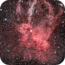 Sh2-157 - Claw Nebulae - First picture from my home observatory,                                Régis Le Bihan