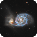 M51 - Whirlpool Galaxy,                                Tommy Lease