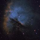 Pacman Nebula NGC 281,                                Everett Lineberry