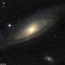 M31 La Galaxie d'Andromède,                                Laurent Explore Astro