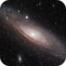 M31 les 12 et 20 août 2015,                                Laurent3112