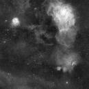 M8 and nebulosities,                                Jonathan Titton