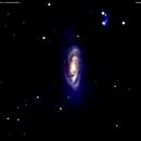 ngc 4569 - m 90 - ic 3583  galassie in coma berenice       distanza 60 milioni  A.L.,                                Carlo Colombo