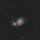 M51 Whirlpool Galaxy,                                tchevrier
