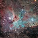 Eta Carina Nebula NGC3372,                                Kevin Parker