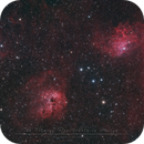IC 405 - The Flaming Star Nebula and friends,                                Christophe Perroud