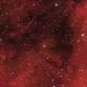 Sh2 205 H-alpha RGB,                                jerryyyyy